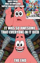 Patrick Explains Super Smash Bros Ultimate by Madarao123