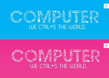 Computer banner by HusseinGaber