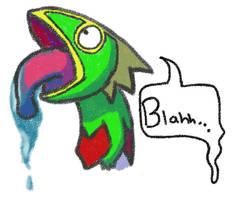 Derpy Kecleon: NOW IN COLOR by pokemonfan-artist