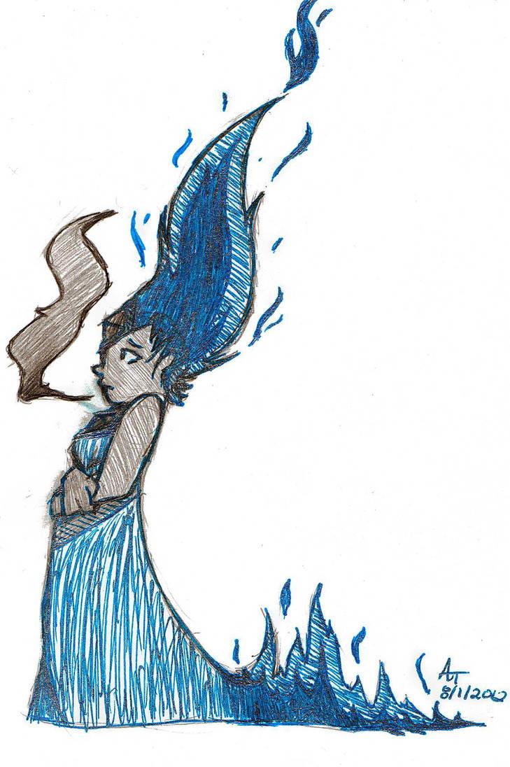 Flame Princess by pokemonfan-artist