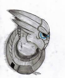 Garrus by pokemonfan-artist