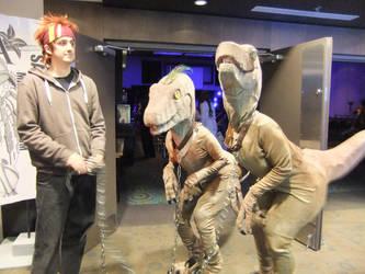 Walking the Dinosaures by Shiroyuki9