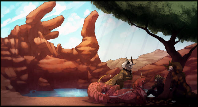 Resting by caneqqy
