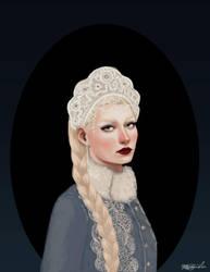 Madame Lebedeva by aqvarelles