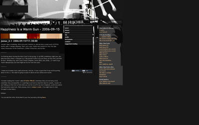 JM Huscher site by thiscatharticnail