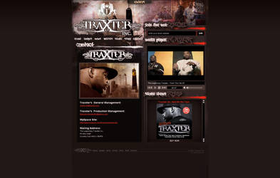 Traxster Inc. site by thiscatharticnail