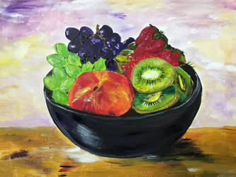 Fruit Bowl by IngridChristina