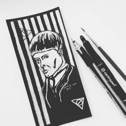 Credence Barebone Ink by JuliaToffy
