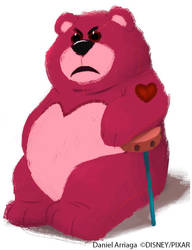 Lotso early character design by danielarriaga