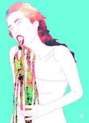 Rainbow vomit Pt. 3 by mindfnck