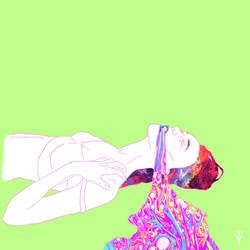 Rainbow vomit Pt. 4 by mindfnck