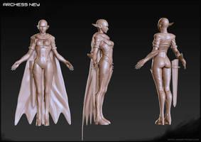 Archess Ney by Hel-su