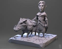 The Rider by Hel-su
