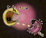 Retro Pacman by Georgia-O-Queef