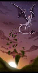 Flight and Fantasy by hannahgrace-art