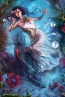 Angel Lake Requiem by lunarsparks