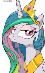 Princess Celestia by MonsterGlad