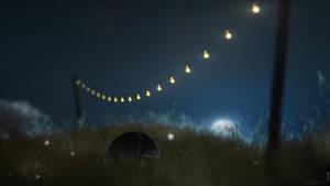 Night Grass - Video Tutorial DOF/Bokeh by Patan77xD