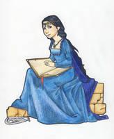 Rowena Ravenclaw by miriamartist
