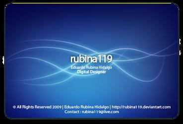 BLUE G ID by rubina119
