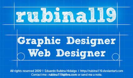 Blue Print ID by rubina119