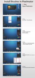 Install Brushes Pixelmator by rubina119