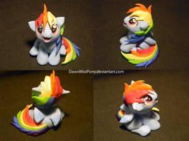 Filly Dash - commission by DawnMistPony