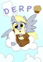 Derpy message by o-SilverSoul-o