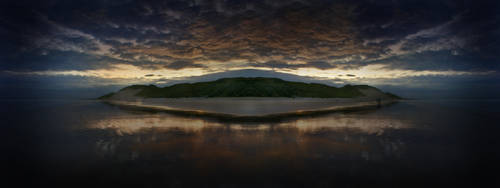 Ocean of Calm by berttheturt