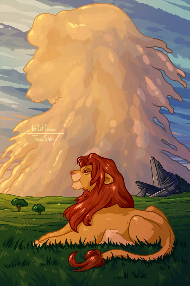 Paint-along 13# Lion King by kr1st1naa