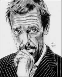 Hugh Laurie 3 by X-Enlee-X