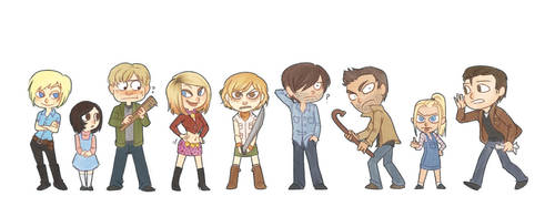 Silent Hill lineup v2 by SnuffyMcSnuff