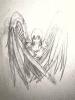 Angel - Wall Milky Effect by x-Butterfly-Away-x