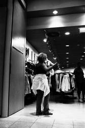 dancing with a mannequin by hipshooters