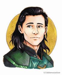 Loki by Jabberwockyface