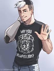 Why You Always Lion? by Jabberwockyface