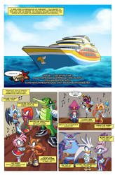 Sonic Sunshine Issue 1 Page 1 by SSJSophia