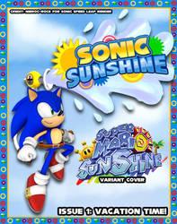 Sonic Sunshine Issue 1 Variant Cover by SSJSophia