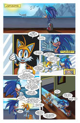 Sonic Sunshine Issue 1 Page 3 by SSJSophia
