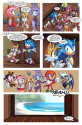 Sonic Sunshine Issue 1 Page 4 by SSJSophia