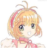 CCS: Sakura - MS Paint by pumpkin-girl27
