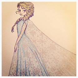 Elsa - Frozen by Jehnaomi