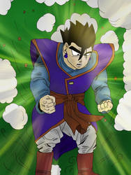 Son Gohan Coloured by Weeth18