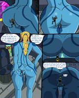 Samus Unaware of Master Chief! (Commission) Page 3 by WesKripsy