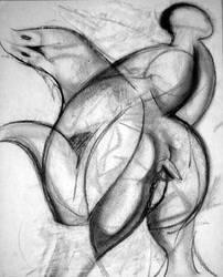 Rape Of Hippolyta by PBK