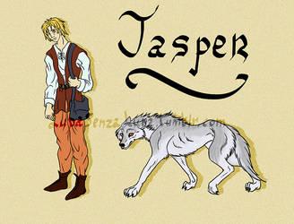 Character Design - Jasper by LupaSenzaLuna