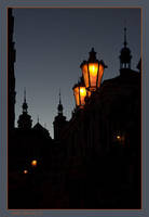 Prague night by de-kay