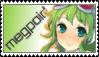 GUMI (Vocaloid) - Stamp by SaintJimmy172
