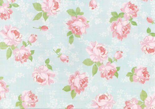 floral paper stock by laurengee