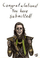 Loki's Congratulations for submitting by Tallisman-Rogue